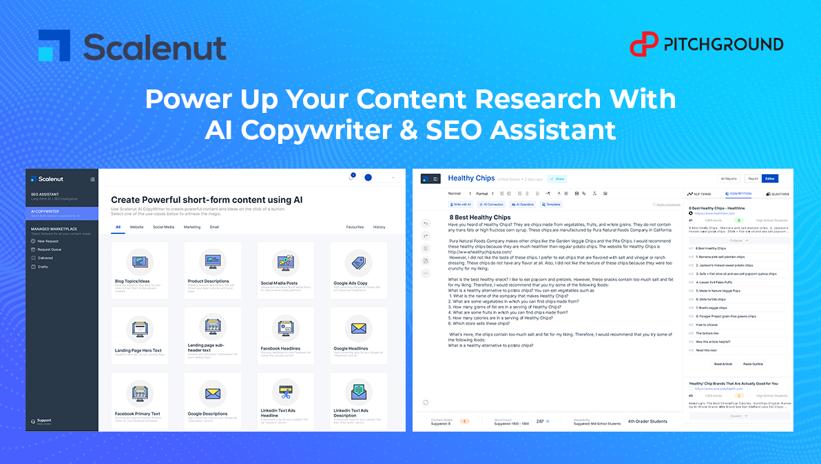 Scalenut A.I Content Writer review, price, pros and cons