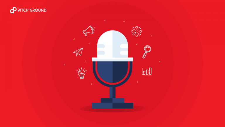 Pitch Ground sales podcast